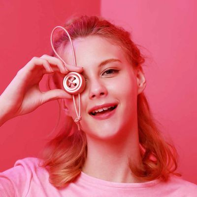 e-Button纽扣 车载香水 便携香薰 钥匙挂饰(送5个香薰片)