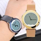 信加M-watch新一代全息透明数显 智能手表(真皮表带