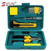 【酷部落】五金工具组合12件套(迷你经济套装)适合家庭小设备拆装