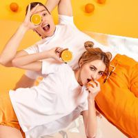 风谜FOOXMET新鲜橙味舒适棉T恤(女款)