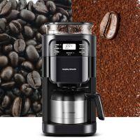 英国摩飞MORPHY RICHARDS全自动磨豆咖啡机(送价值99元挂耳咖啡一盒+咖
