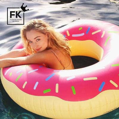 美国Floatie kings ins网红游泳圈 水上坐骑原版(甜甜圈)