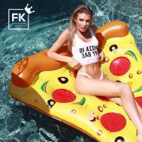 美国Floatie kings ins网红游泳圈 水上坐骑原版(披萨)