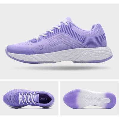 爆米能量新科技爆弹双动力跑鞋(浅紫-女款)