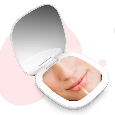 一款能补光的LED口袋化妆镜