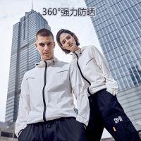 2019新款风谜FOOXMET 超薄透气 UPF50+防晒衣(白色情侣款)
