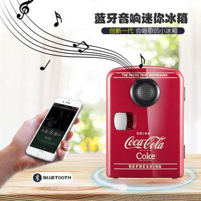CocaCola可口可乐多功能蓝牙音响迷你车载&家用冰箱 冷暖两用