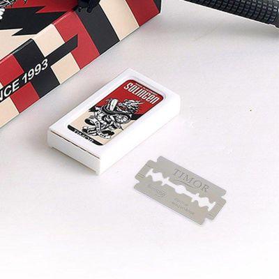 英国KWAN YEE GOR关二哥 德国索林根专业级刀片 10片/盒(需配合剃须刀使用!)