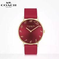 【顺丰包邮】蔻驰COACH Perry佩里系列-时尚石英腕表 鼠年限定红色款