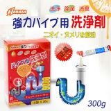 日本进口HANNAH厨房厕所下水道管道疏通剂30g*10