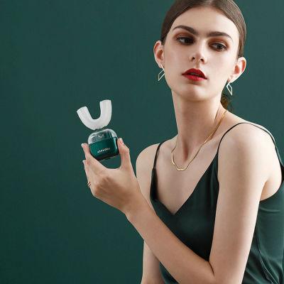 艾诗摩尔 冷光亮白+高频洁牙 U型成人电动牙刷(送配套光触媒牙膏)