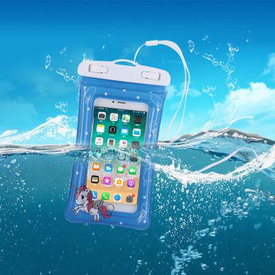 2020新款 可悬浮水面的卡通手机防水袋