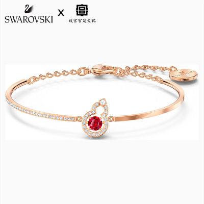 施华洛世奇 红色葫芦手链