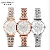 Armani阿玛尼镶钻满天星钢带石英手表