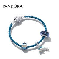 Pandora潘多拉梦幻海洋独角鲸&海豚925银手链套装ZT0685