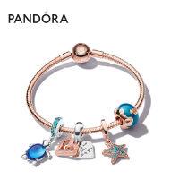 Pandora潘多拉海洋系列深海记忆海龟爱心手链套装ZT1355