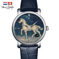 VanGogh梵高 瑞士原装进口 博物馆正版授权典藏系列石英手表-马的石膏像