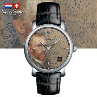 VanGogh梵高 瑞士原装进口 博物馆正版授权典藏系列石英手表-自画像
