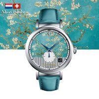 VanGogh梵高 瑞士原装进口 博物馆正版授权日内瓦系列小表盘石英手表-盛