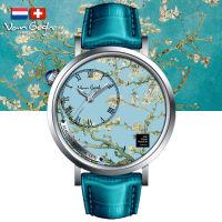 VanGogh梵高 瑞士原装进口 博物馆正版授权画梦系列小表盘石英手表-盛开